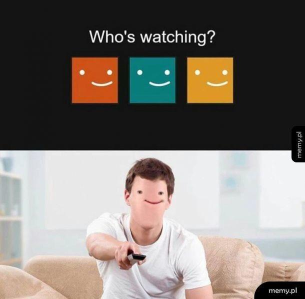 Coś nie poszło Netflixow