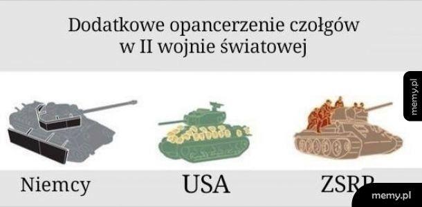 Opancerzenie podczas II wojny światowej