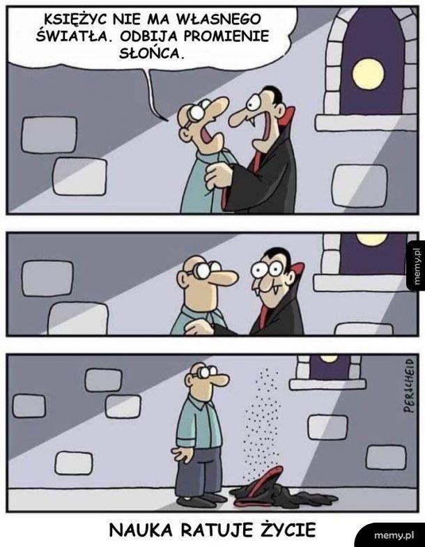 Nauka ratuje życie