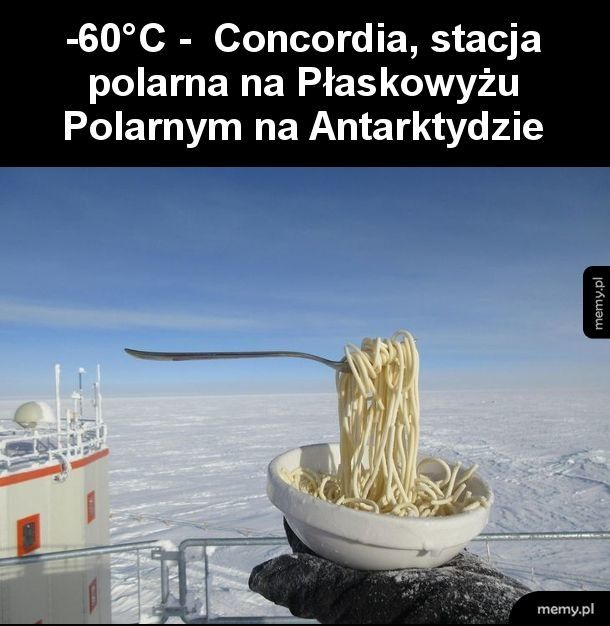 To jest dopiero zimno