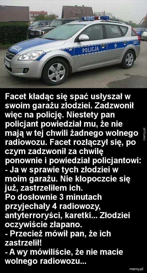Właśnie tak działa polska policja