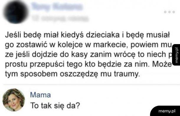 Mama nie wiedziała