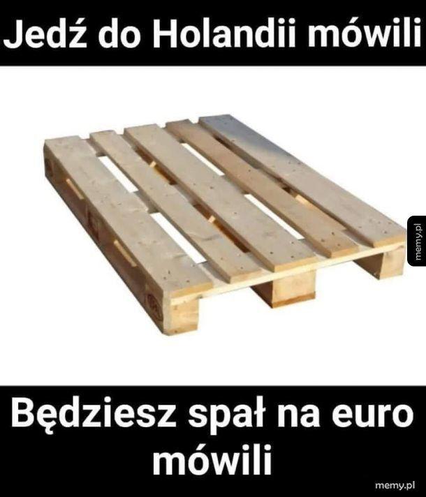 Spanie na euro
