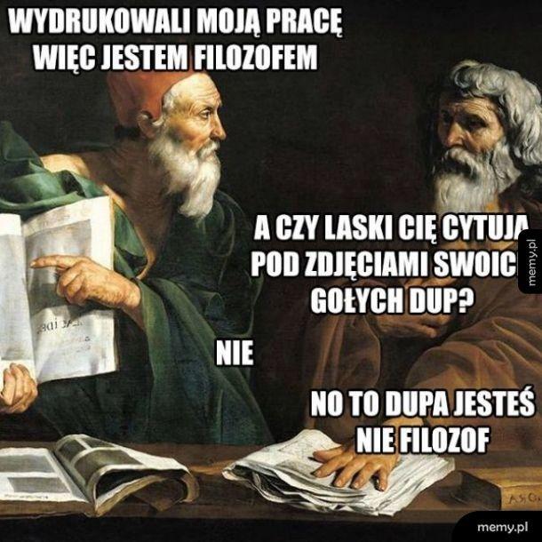 Jestem filozofem