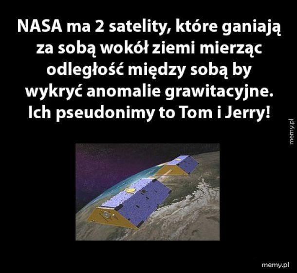 Satelity NASA