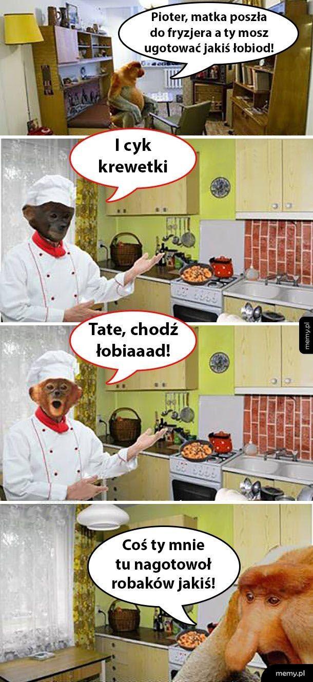 Kiedy Pioter ma zrobić obiad