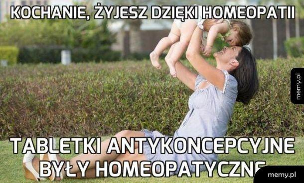 Homeopatia ratuje!