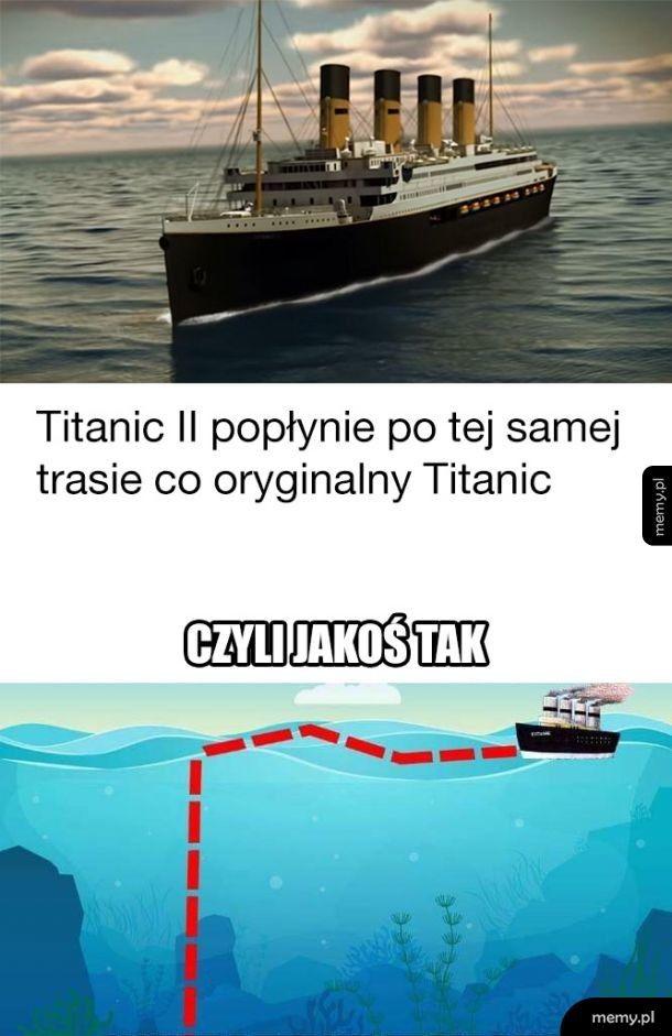 Titanic II popłynie po tej samej trasie co oryginalny Titanic