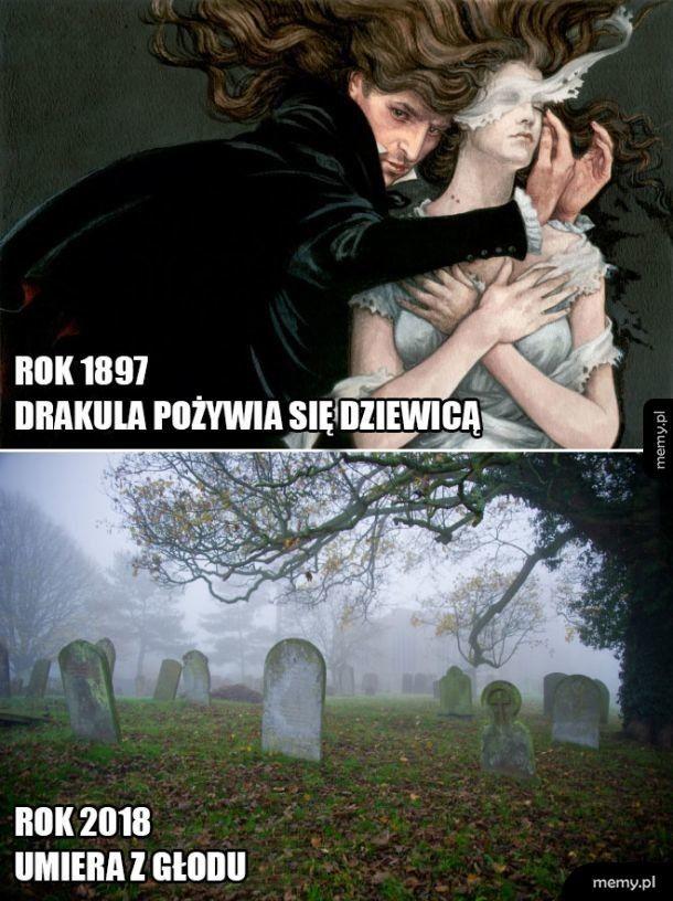 Ciężkie czasu dla Drakuli
