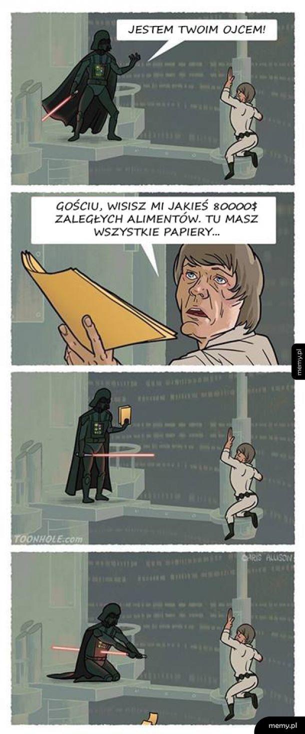 Vader ma przerąbane
