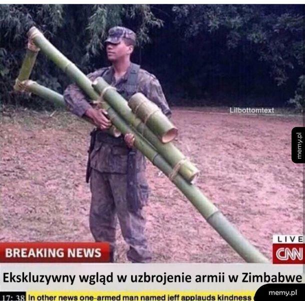Tajna broń prosto z Zimbabwe