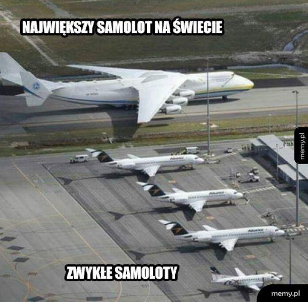 Największy samolot na świecie