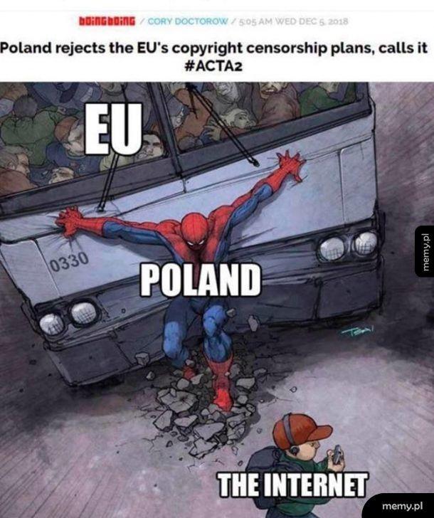 Polska odrzuciła ACTA2