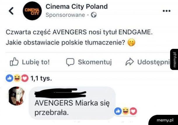 Polskie tłumaczenie