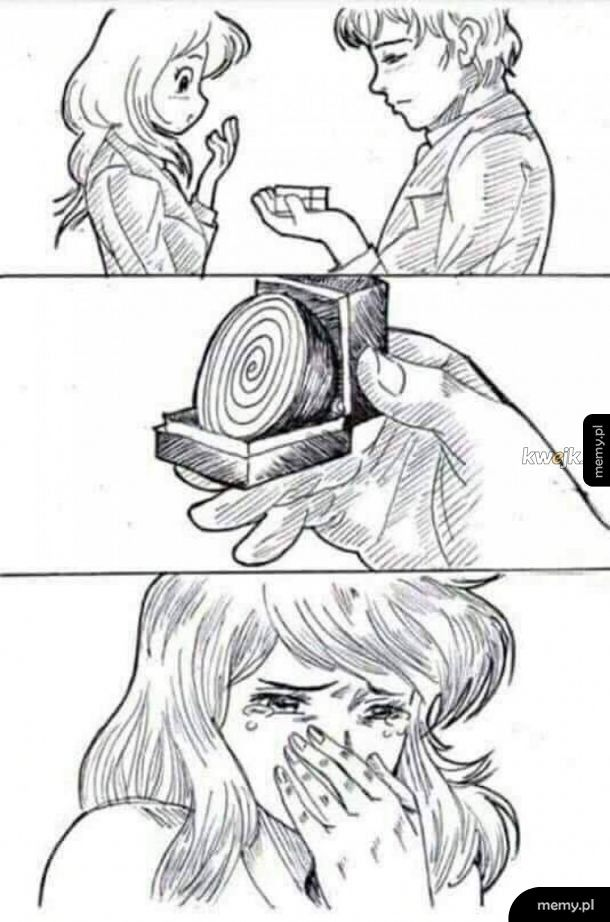 Co zrobić, żeby dziewczyna płakała przy oświadczynach