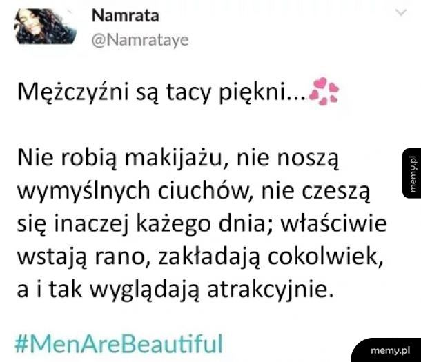 Mężczyźni są piękni