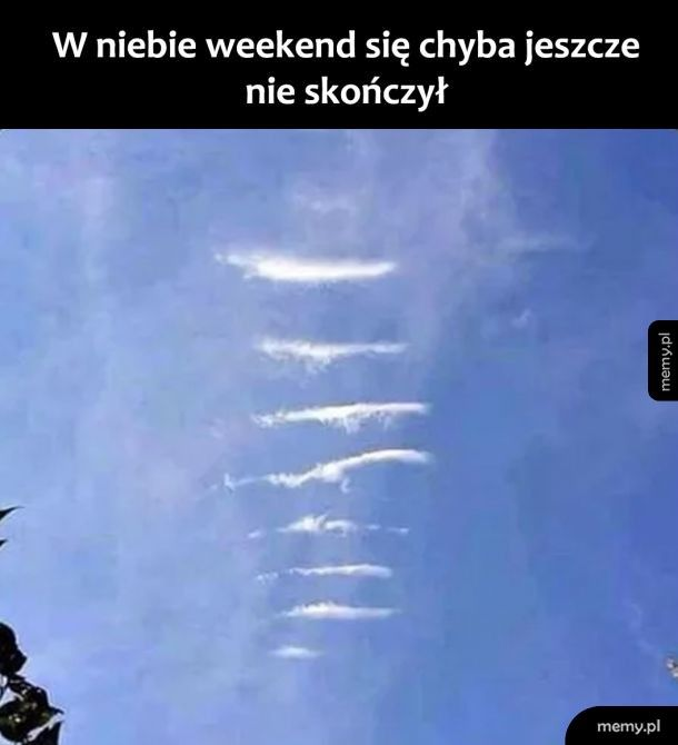 Weekend w niebie