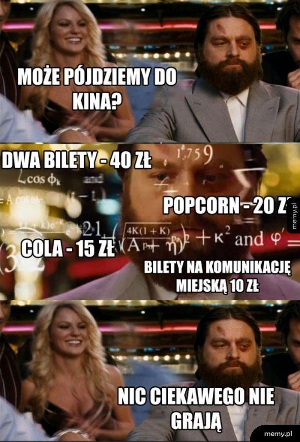 Pójście do kina