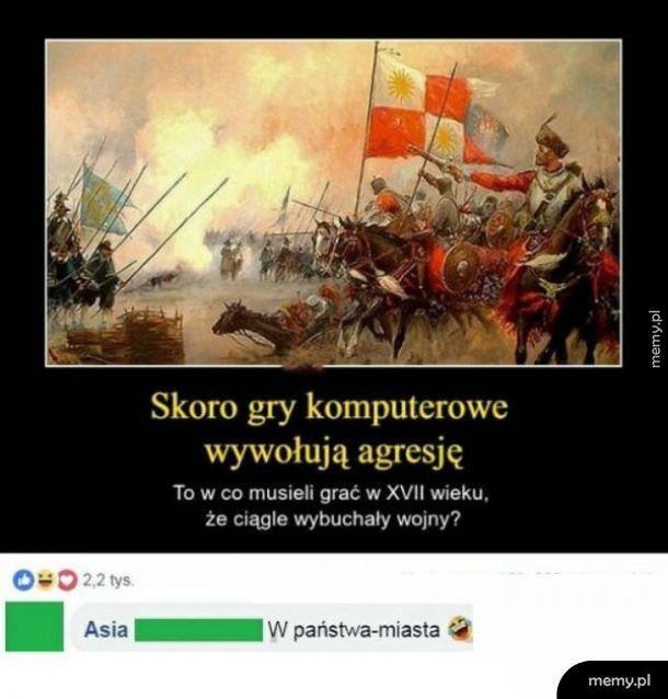 Gry wywołujące agresję