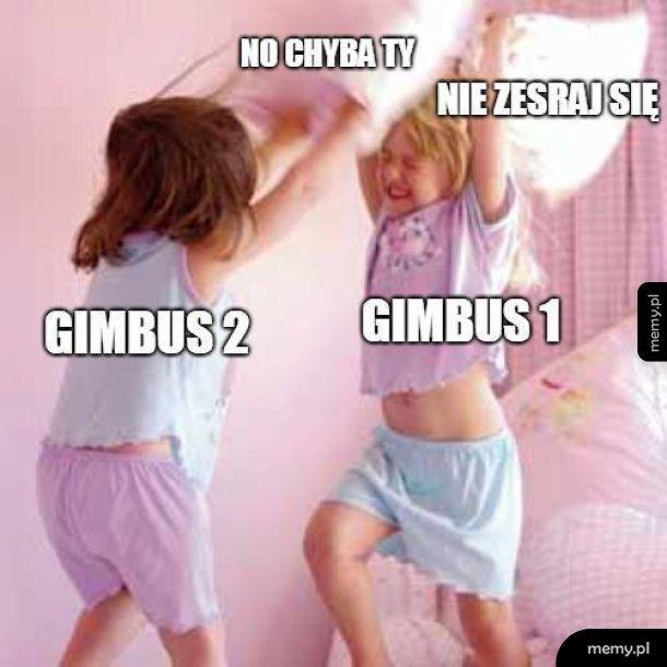 Kłótnia gimbusów