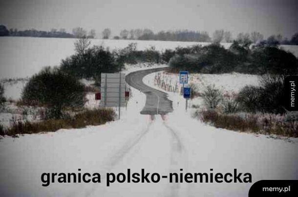 Granica Polsko Niemiecka