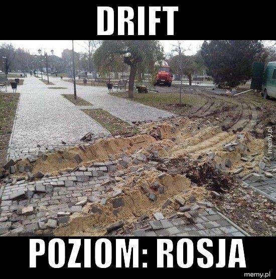 Drift Poziom: Rosja