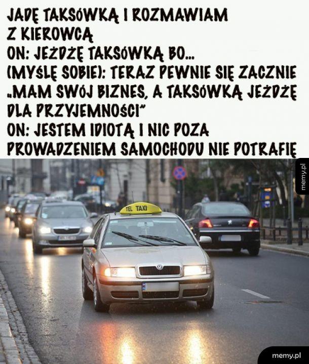 Szczery taksówkarz