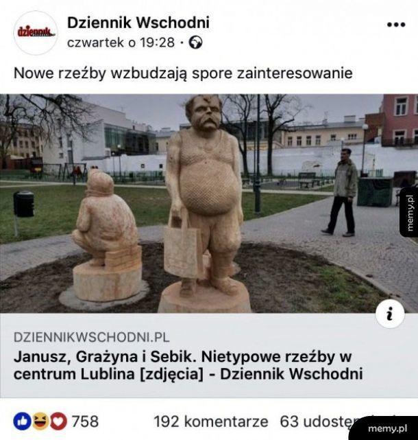 Nowe rzeźby