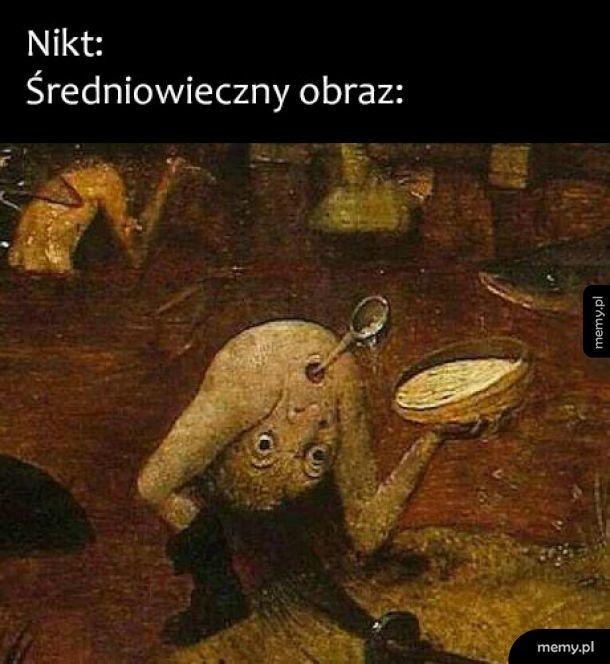 Średniowieczny obraz