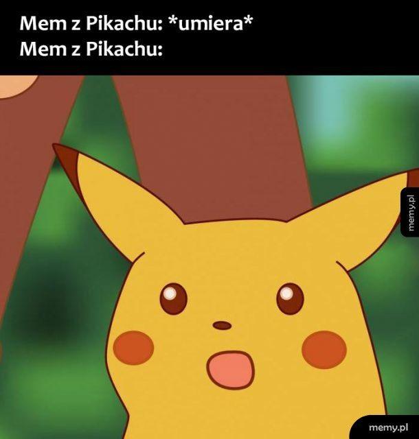 Mem z Pikachu