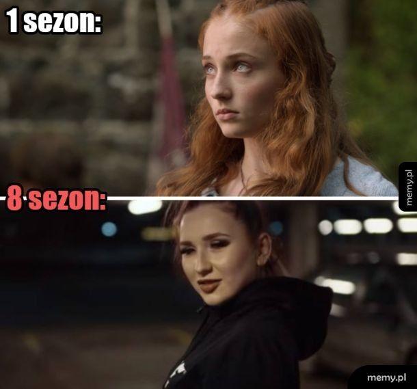 Ale ta Sansa wyrosła