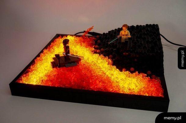 Mustafar z Lego