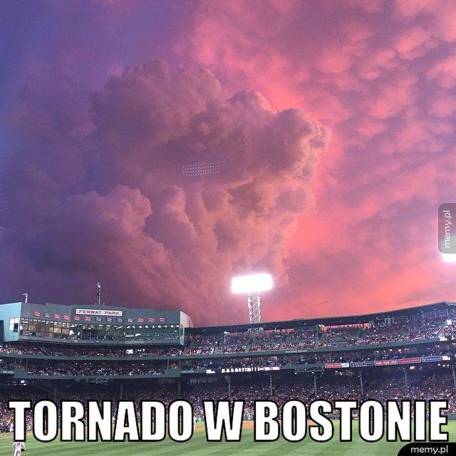 Tornado w Bostonie