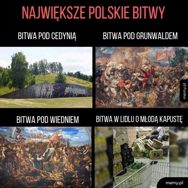 Historyczne bitwy