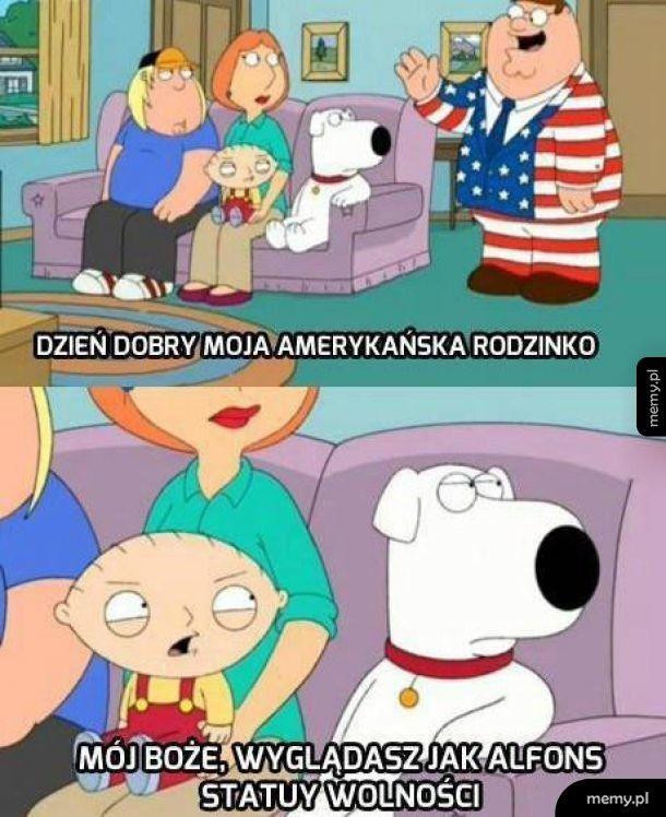 Amerykańska rodzina