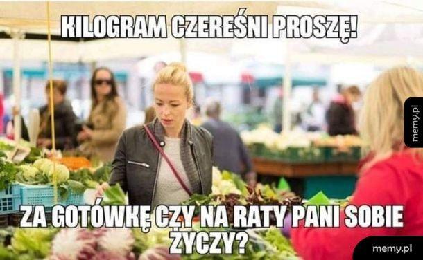 Ceny w Polsce takie piękne