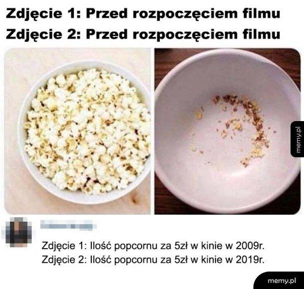 Popcorn drogi jak czereśnie