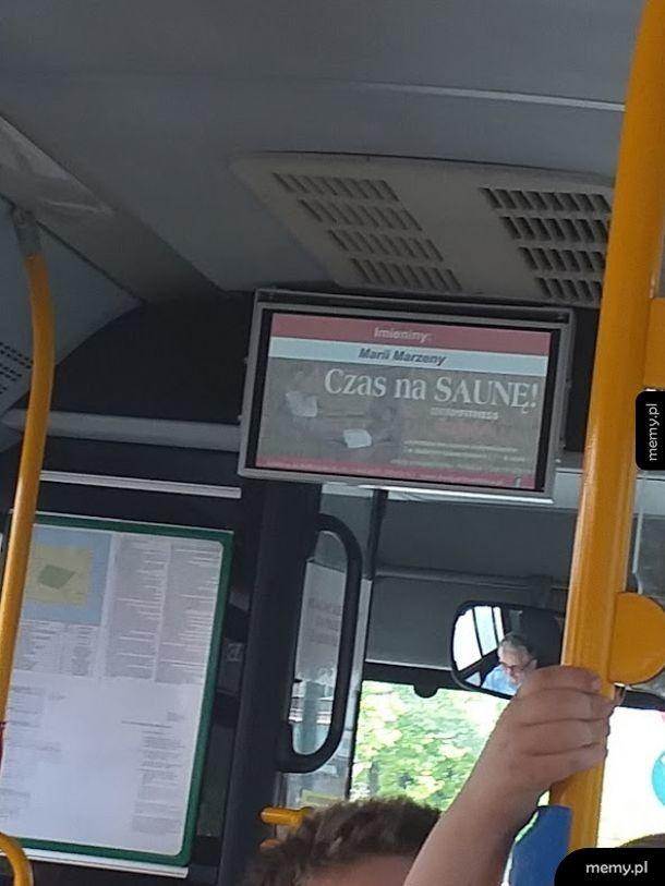 Odpowiednia reklama w odpowiednim miejscu MPK
