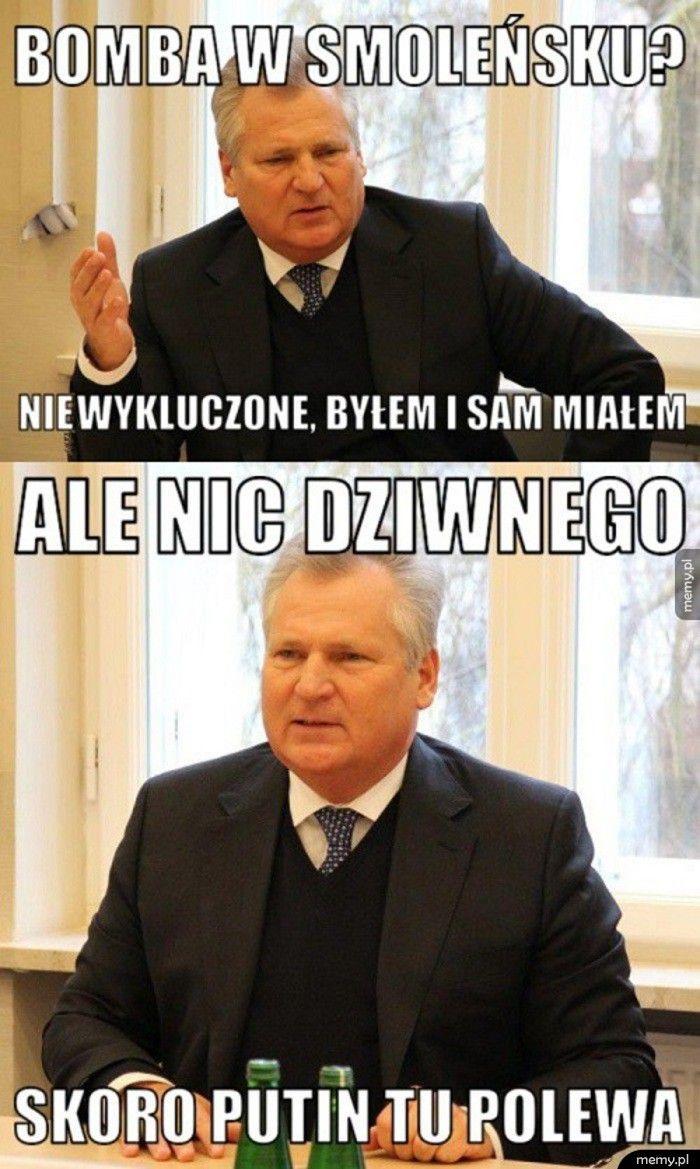 Bomba w Smoleńsku?