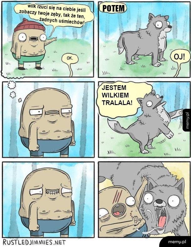 Postępowanie z wilkiem