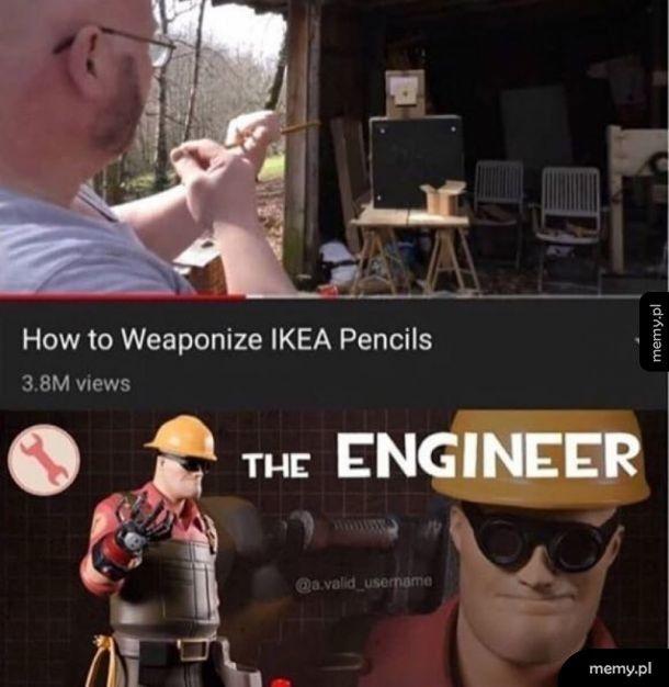 Ikea gun