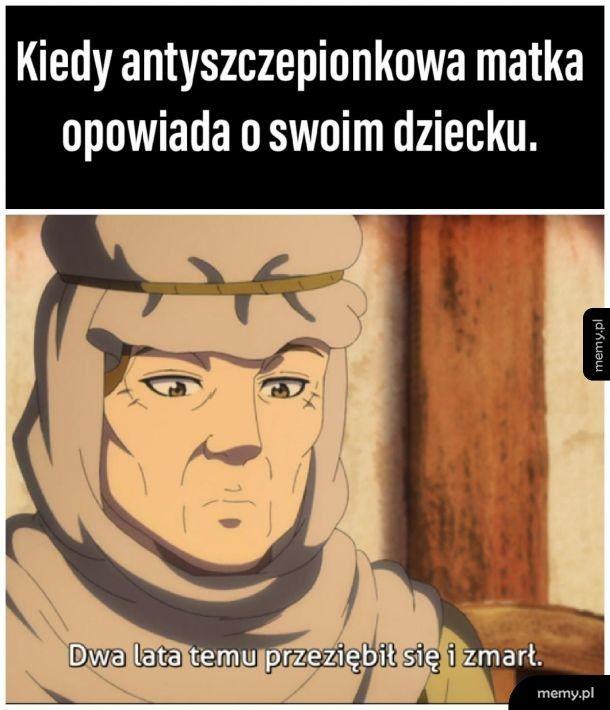 Memy o antyszczepach zawsze młode