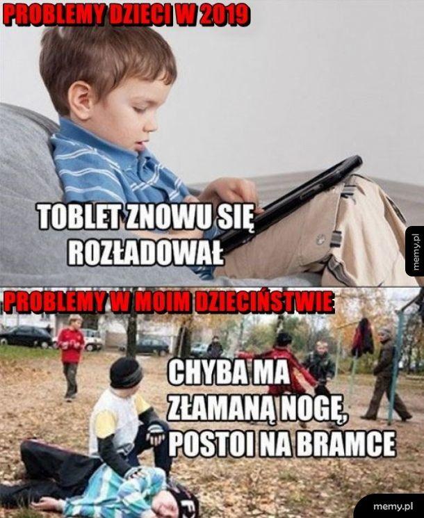 Problemy dzieciaków