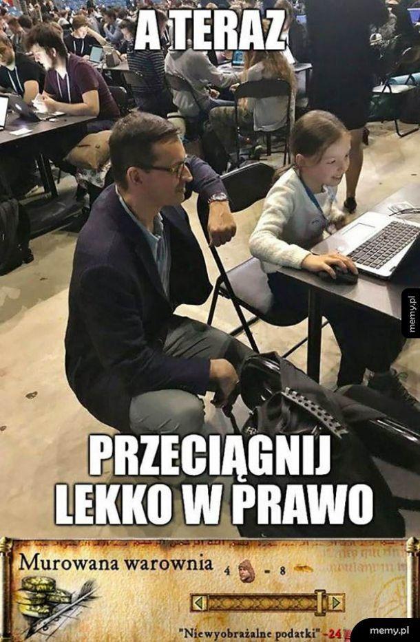 Morawiecki łata dziurę budżetową