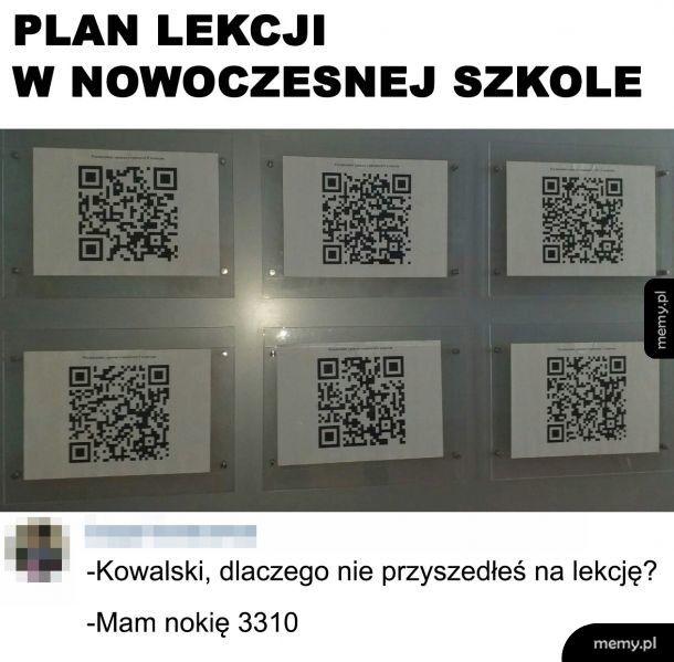 Nowoczesny plan lekcji