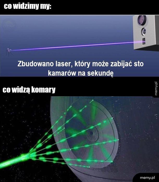 Laser na komary