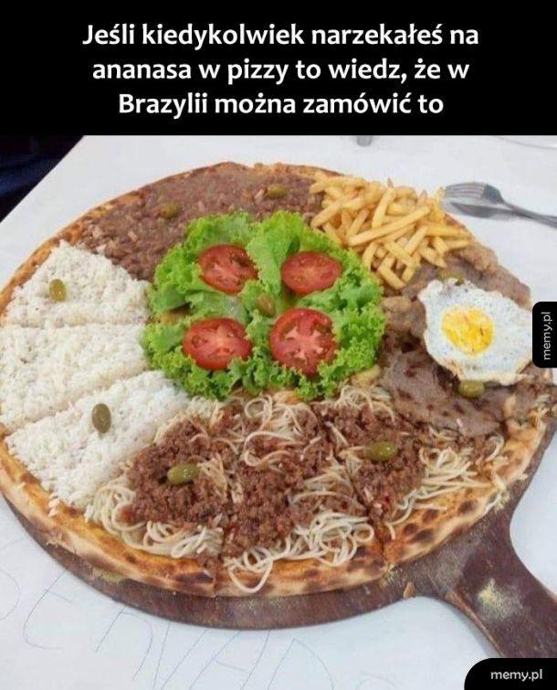 Brazylijska pizza