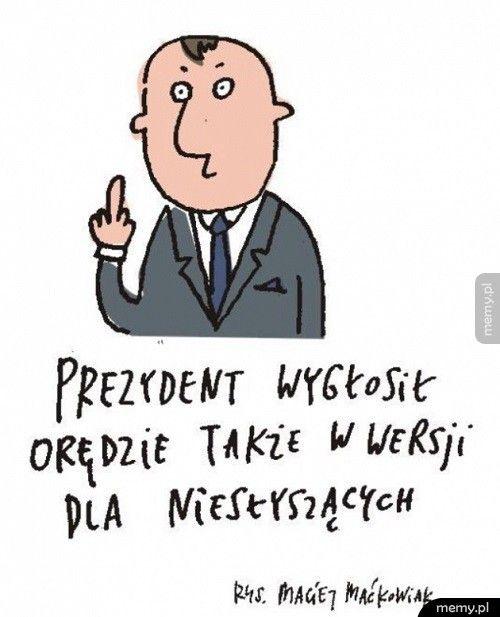 Orędzie prezydentav