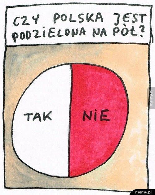 Polska podzielona
