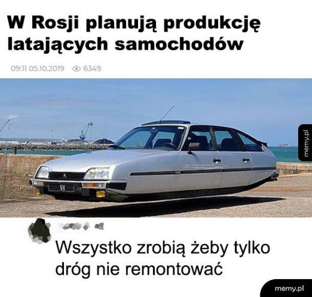 Latające samochody
